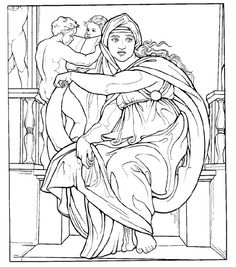 Free Art History Coloring Pages | More Mona lisa ideas