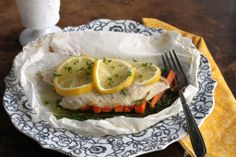 How To: Fish Baked in Parchment via Brittany's Pantry