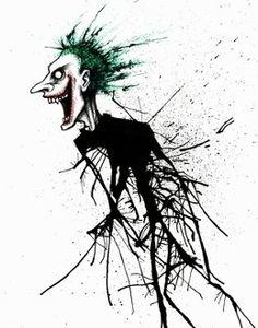 kevin eslinger Rorschach Bad Clown