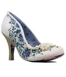 5c28cc0e04c Pearly Girly IRREGULAR CHOICE Vintage Retro Heels
