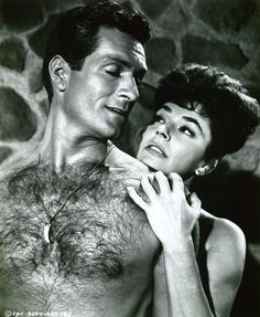 Hugh O'Brian and Ruth Roman