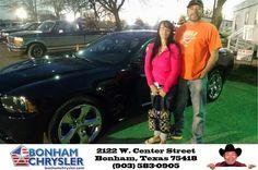 https://flic.kr/p/DkuR1J | Congratulations Kevin on your #Dodge #Charger from Bonham Chrylser at Bonham Chrysler Jeep Dodge RAM! | deliverymaxx.com/DealerReviews.aspx?DealerCode=ZCEP