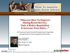 How To Improve Dining Room Service by Richard Saporito - Restaurant  Management