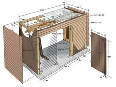 Bicycle shed | SELF MAKING home improvement magazine
