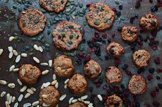 These oaty cookies are the sort of baking I like to do when I'm making something for health-conscious friends, or with kids, or even when I'm home alone.