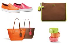 NEON accesories by COACH