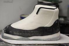 How to make Nike Air Jordan Cake