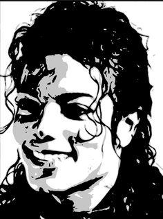 Michael Jackson Drawings, Michael Jackson Art, Mikel Jackson, Pop Art Dibujos, Pop Art Drawing, Spray Paint Art, Shadow Art, Vector Portrait, Black Silhouette