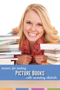 Do you share picture books with your secondary students? Here are reasons and methods for reading aloud with older students. #ClassroomLibrary #ReadAlouds Teaching Language Arts, Classroom Language, Art Classroom, Reading Aloud, Middle School English, Teacher Tips, English Lessons, Picture Books, Short Stories