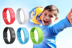Kids' Smart Fitness Activity Watch - 5 Colours! deal in Baby Products Get an activity watch for kids.  With five functions in one!  Monitors steps taken, distances, quality of sleep and much more!  Get your kids interested in fitness!  Suitable for ages 8+.  Fully rechargeable for convenience! BUY NOW for just £7.99 Check more at http://nationaldeal.co.uk/kids-smart-fitness-activity-watch-5-colours-deal-in-baby-products/