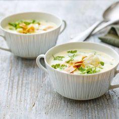 Blumenkohl-Parmesan-Suppe