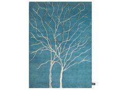 Patterned rectangular rug DOUBLE ARBRE DE VIE by cc-tapis ®