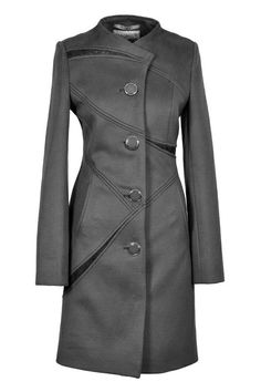 Выкройки на индивидуальные размеры Versace Jacket, Professional Dresses, Working Woman, Office Wear, Business Fashion, Winter Coat, Work Wear, Creations, Wool Jackets