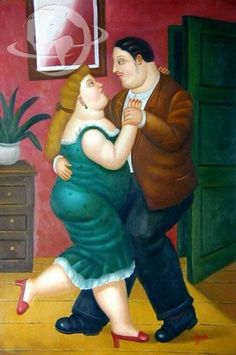 Fernando Botero, 1932 ~ Figurative painter