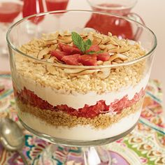 Wonderful Ways to Celebrate Mom | Apron Free Cooking including recipe for Breakfast Six Layer Trifle