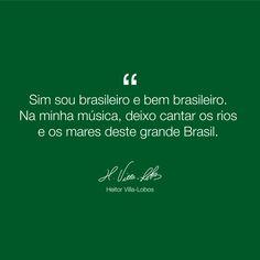Heitor Villa-Lobos. Homenageando os rios e os mares deste grande Brasil! #operaclub #opera #villalobos #operanasala