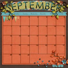 Free Fall-ing by Flergs http://www.sweetshoppedesigns.com/sw...t=0&page=2  2014 Calendar Templates by Scrapping with Liz