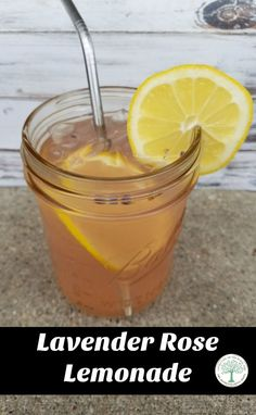 Delicious and refreshing! Try this lavender rose lemonade today! Make with all natural, herbal ingredients that you can feel good about! The Homesteading Hippy via @homesteadhippy