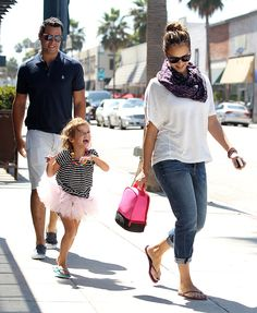 Jessica Alba Pictures With Honor and Cash Warren Photo 11