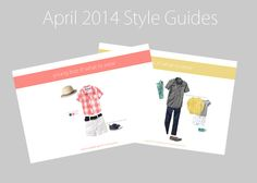 Chic Critique Forum | Friday Freebie | What to Wear Guides | April 2014