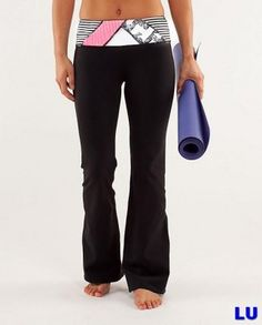 Lululemon Outlet Groove Pant Variegated Black & White & Pink : Lululemon Outlet Online, Lululemon outlet store online,100% quality guarantee,yoga cloting on sale,Lululemon Outlet sale with 70% discount!$45.77