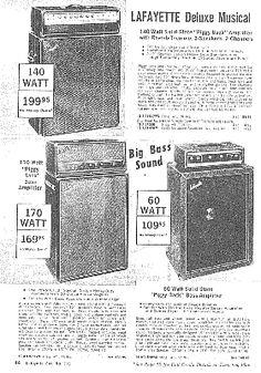 Lafayette Electronics Catalog 1971