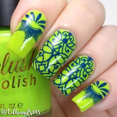 Delush Polish- Abstract Attraction DP06 Stamping Plate