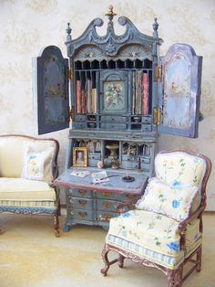 French Curio Cabinets - Foter
