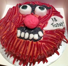 Animal from the Muppets cake