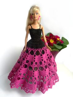 RESERVED for Inês Barbie Ball Gown Outfit by RianasBarbieCloset