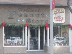 peanut candy store holland michigan