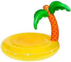 Lounge around the pool this summer with these Sunnylife Twin Tropical Island Round Luxe Pool Floats! Buy pool toys, beach games & inflatables online now! Tropical Island, Cool Pool Floats, Kid Pool, Sunnylife, Pool Toys, Water Slides, Cool Pools, Summer Fun, Summer Pool