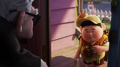 """UP """"Meet Russell"""" Video Clip- Sequence of Events/ How character traits contribute to a sequence of events"""