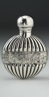 Saunders and Shepherd Silver Scent bottle