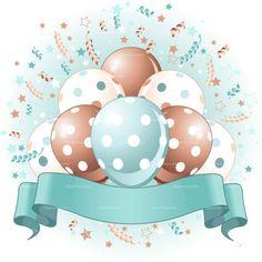Pink Birthday Balloons Design Birthday balloons, confetti & copy space ribbon for Birthday girl. EPS 8 (editable), JPG (high resolution) Created: GraphicsFilesIncluded: JPGImage Layered: No MinimumAdobeCSVersion: CS Tags: anniversary Happy Birthday Messages, Birthday Wishes, Birthday Cards, Birthday Celebration, Balloon Design For Birthday, Birthday Balloons, Blue Birthday, Art Birthday, Balloon Ribbon