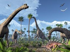 Feeding/Grazing Dinosaurs. (Poster at AllPosters.com).