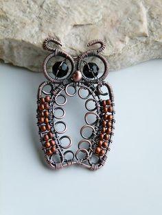 Awesome owl wirework!