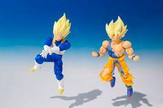 Vegeta Mini Action Figure - SHODO Dragon Ball Z - Dragon Ball Z