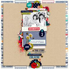 Today digital scrapb
