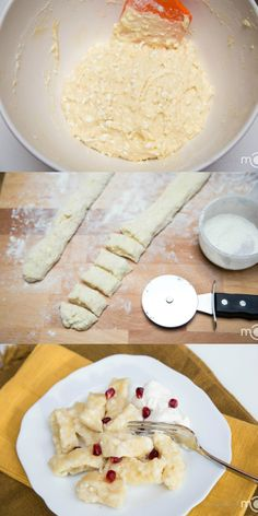 Cheesy dumplings that make a perfect breakfast or dessert! They are really quick to prepare.