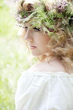 Forest Fairy II by Yvette Leur