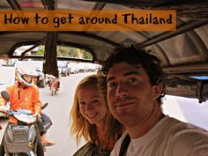How to get around #Thailand  http://www.ytravelblog.com/getting-around-thailand/ #travel #travelpinspiration