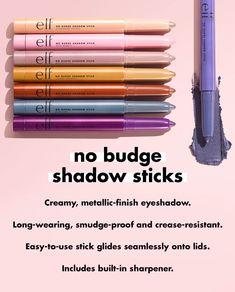 Drugstore Eyeshadow, How To Apply Eyeshadow, Metallic Eyeshadow, Cream Eyeshadow, All Things Beauty, Beauty Make Up, Thrive Cosmetics, Waterproof Eyeshadow, What To Use