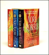 Nora Roberts' In the Garden Trilogy - Blue Dahlia, Black Rose and Red Lily