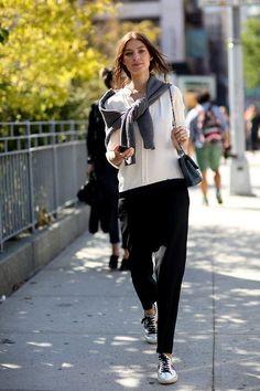 Kati Nescher | street style NYFW SS 2015 (via Bloglovin.com )