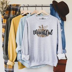Thanksgiving Crew Neck Sweatshirt, Leopard Print Pumpkin Sweatshirt, Comfort Colors Sweatshirt, Fall Sweatshirts, Women's Fall Sweatshirt