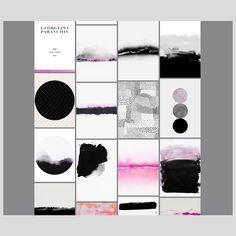 georgianaparaschiv.com  #artist #artportfolio #portfoliowebsite #abstract #minimal #art #minimalism #simplicity #portfolio #website #pink…