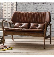 Chesterfield sofa modern braun  Edward 3-Sitzer Sofa, Vintage-Braun | Vintage, Chesterfield sofa ...