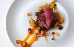 Wood pigeon with cobnuts - Alan Murchison