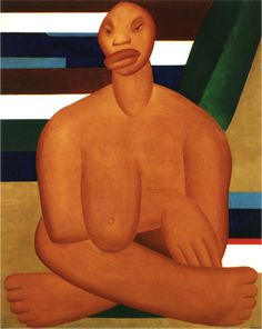A Negra, 1923, Tarsila do Amaral